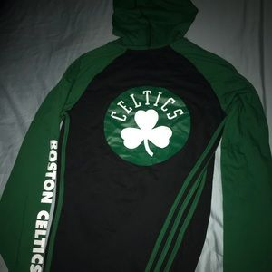 Women's Adidas Pullover Boston Celtics Hoodie